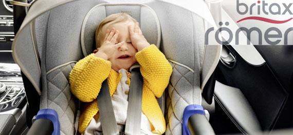 Sicher &amp; entspannt mitfahren: <strong>Römer Kinderautositze</strong>