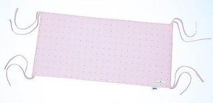 Alvi Kopfnestchen Jersey Rosa Punkte bellybutton