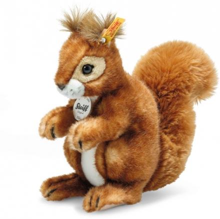 Steiff Squirrel Niki red brown