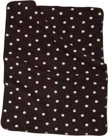 ALVI Baumwoll Baby Decke Punkte braun 75 x 100 cm 9317457066 (Alvi)