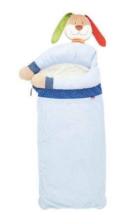 Sigikid 40709 Schlafsack Hase blau