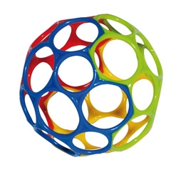 OBALL Big 15cm farblich sortiert - popular infant ball