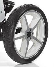 Hartan Hinterrad Crossfelge weiß für Topline S/X und Racer GT 20