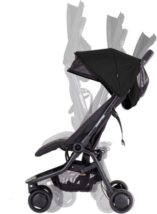 mountain buggy Nano buggy mit snap&go adapter - black (Mountainbuggy)