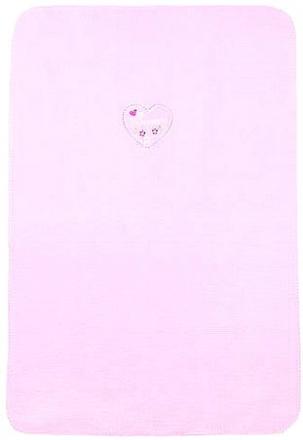 Zöllner 1467-0 Prinzessin Babydecke 75/100cm Baumwolle