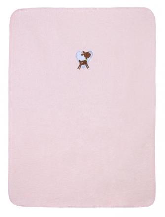 Zöllner 1517-0 Kleines Reh Babydecke 75/100cm Baumwolle