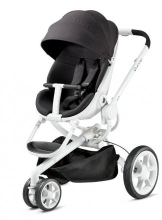 Quinny Moodd Black irony inkl. faltbaren Kinderwagenaufsatz weiss billig kaufen