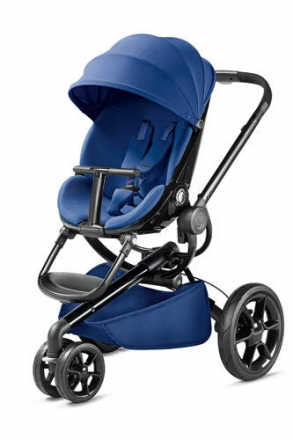 Quinny Moodd BlueBase 76609130 inkl. faltbaren Kinderwagenaufsat