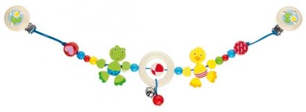 Gollnest und Kiesel Kinderwagenkette Frosch und Ente 737740 (Gollnest und Kiesel KG)