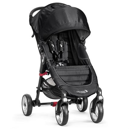 Baby Jogger Citi Mini 4 Rad Black