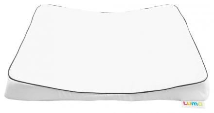 Luma Wickelauflage Komfort Snow white L80301
