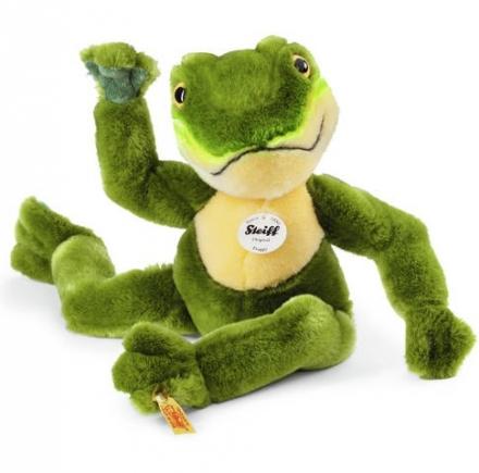 Steiff 064586 Froggy Schlenker Frosch 30 grün