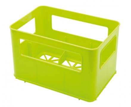 Rotho Flaschenbox für Weithalsflasche grün