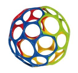 OBALL Original 11 cm farblich sortiert - popular infant ball