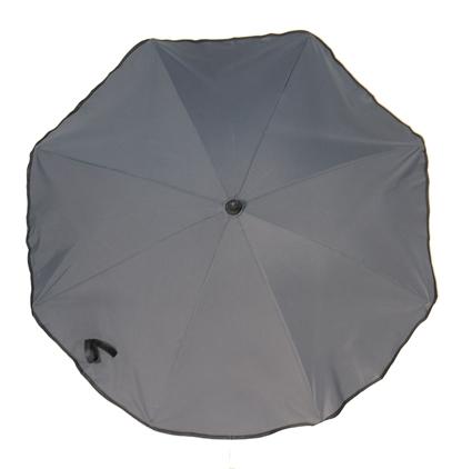 Sonnenschirm dunkelgrau Silence Clip UV Schutz 50 72 cm