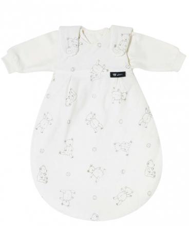 Alvi Baby-Mäxchen® 3 tlg. Teddy beige 74/80 Ausverkaufspreis