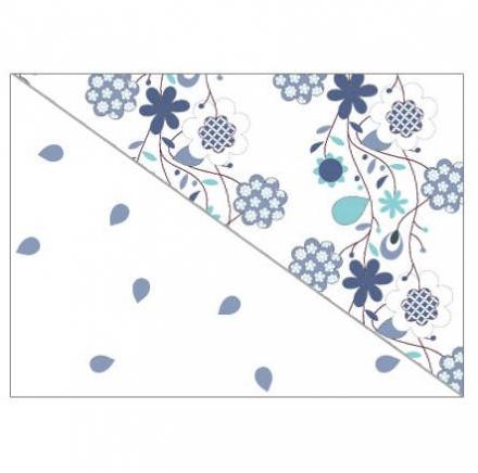 Theraline Extrabezug für Stillkissen Design 57 Blumenranken