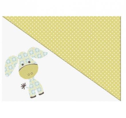Theraline Extrabezug für Stillkissen Design 70 Esel akacia gelb