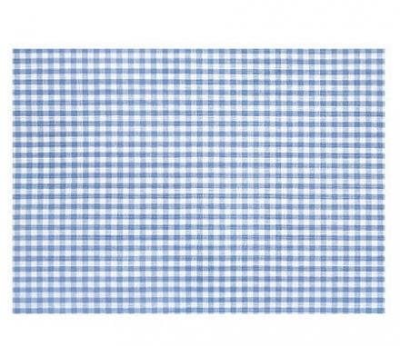 Theraline Extrabezug für Stillkissen Design 50 Vichy-Karo blau