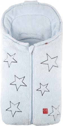 Kaiser Stella Babyschalenfußsack, Fb. hellblau