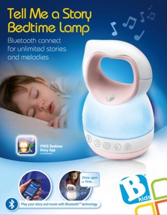 B Kids Geschichtenerzähler mit Licht und Musik pink 980-004912-1