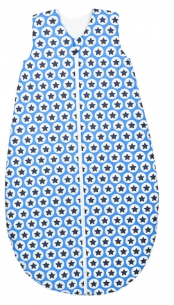 Odenwälder sleeping bag basic 1416/1267 Hip Hop blue 110cm