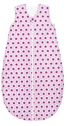 Odenwälder sleeping bag basic 1416/1268 Hip Hop pink 110cm