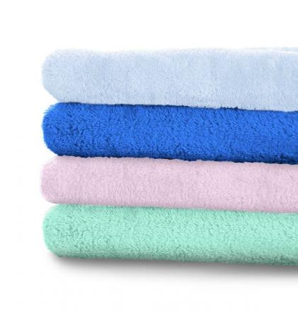 Odenwälder 016050/ 200 micro teddy blanket bright blue
