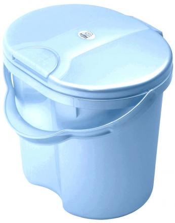 Windeleimer Rotho Top Baby Bleu Perl