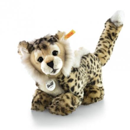 Steiff Cheetah Baby 064647 Schlenker Gepard 26 beige/braun