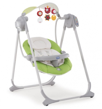 Chicco Polly Swing up 0651 Green Babyschaukel