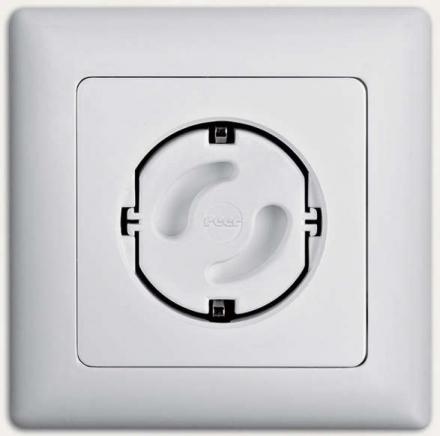 REER saftey cap for sockets to click in 5er Pack