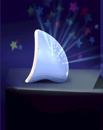 B Kids Nachtlicht Mond blau 980-004373-86