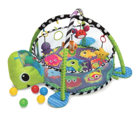 B Kids Grow-With-Me Activity Gym & Ball Pit 930-005010-00