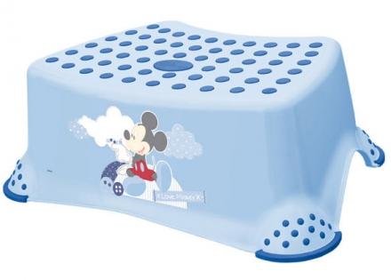 Tritthocker OKT Mickie Mouse hellblau