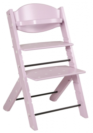 Treppy 2045 Pastel Pink Dots Kinderhochstuhl