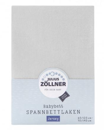 Zöllner Jersey sheet 51-bright grey 70/140