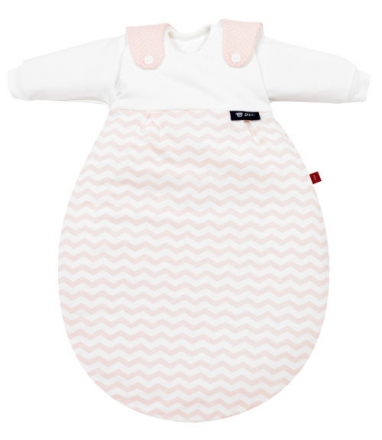 Alvi 423855662 Baby-Mäxchen® 3 tlg. Chevron Rosa s.Oliver 68/74 Auslaufmodell