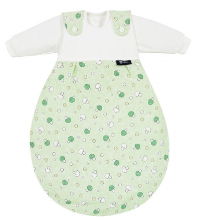 Alvi 423607133 Baby-Mäxchen® 3 tlg. Glückspilz grün 62/68 Auslaufmodell