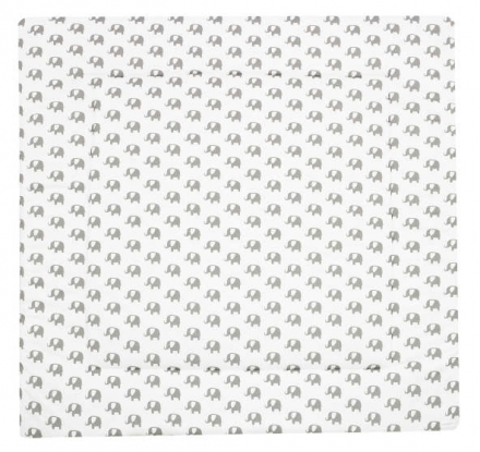 Alvi playing mat elephants white - Special Edition 120x120