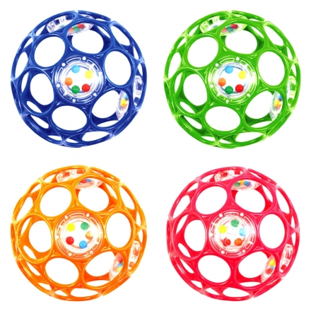 OBall Rattle 10 cm - farblich sortiert (Baby Plus) Preisvergleich