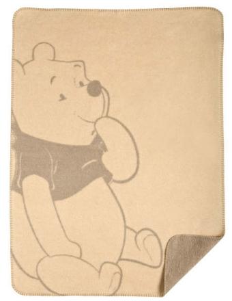 Zöllner 1340-1 Jacquard blanket Disney Smiley Pooh 75/100