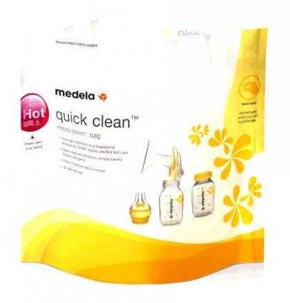 Medela 008.0040 Quick Clean™ Mikrowellenbeutel (5 St.)