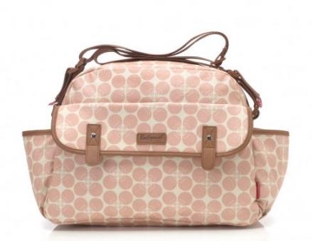 Babymel BM 9212 Molly Wickeltasche Floral Dot pink