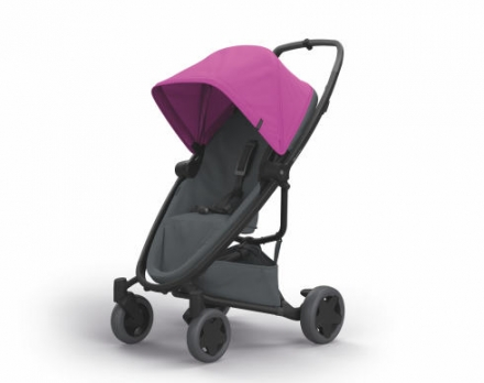 Quinny 1398381000 Zapp Flex Plus Buggy pink on graphite
