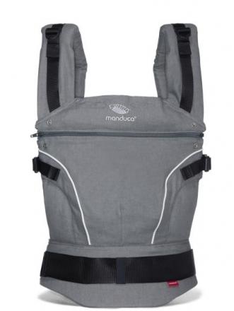 Manduca baby carrier manduca PureCotton dark grey