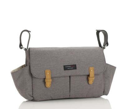 Storksak Travel Stroller Organiser grey