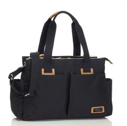 Storksak Shoulder Bag black