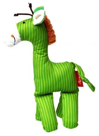 Sigikid Kuschelfigur Giraffe grün