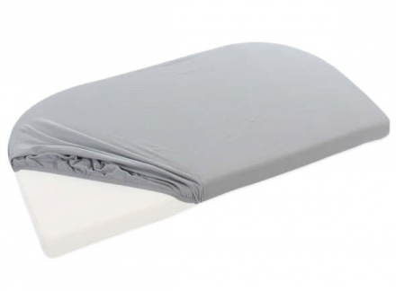 Tobi babybay jersey fitted sheet grey for Maxi/Boxspring/Trend mattresses